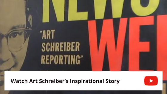 Watch the Art Schreiber Promotional Video